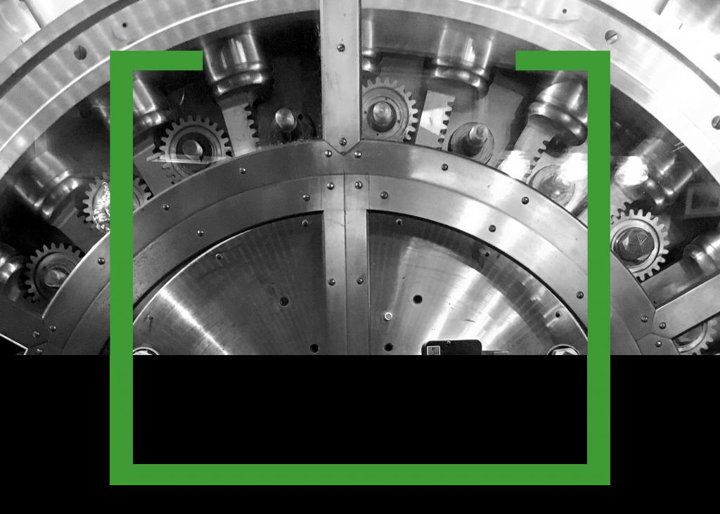 Image of bank vault